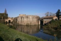 Bastione Buovo e canale S. Massimo
